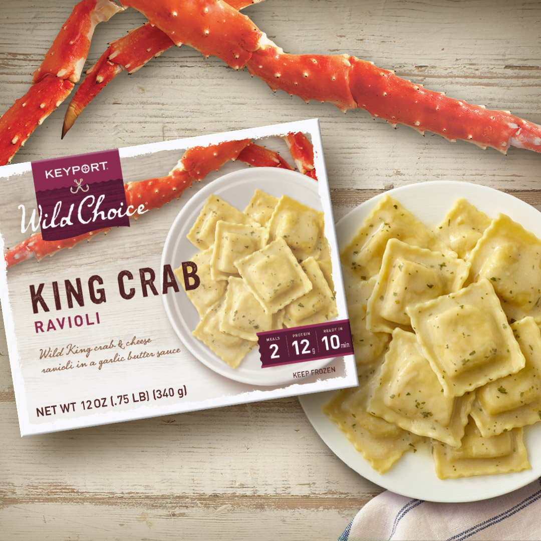 Wild Choice King Crab Ravioli