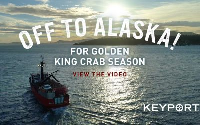 Heading Off for Alaska Golden King Crab Season