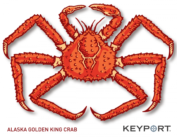 Alaska Golden King Crab