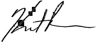 Kurt Pedersen signature